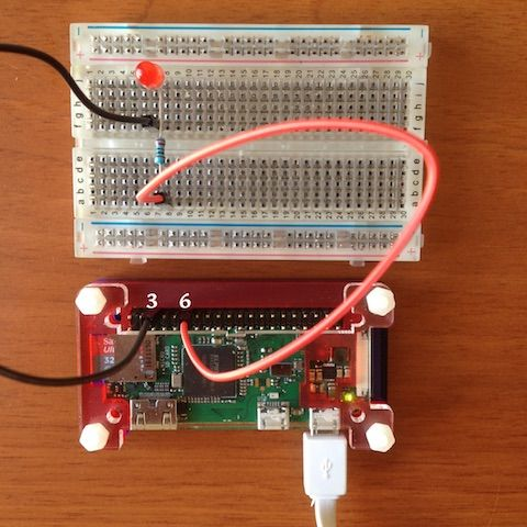 raspberry pi w led